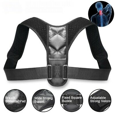 Posture Clavicle Support Corrector Back Straight Shoulders Brace Strap Boy Child
