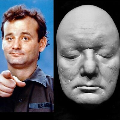 """Bill Murray Life Mask Cast"""" Scrooged Ghostbusters""""SNL""""Caddyshack"""" """"Groundhog Day"""