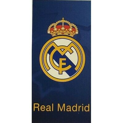 Real Madrid toalla de playa de  70 x 140 cm.