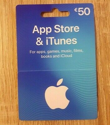 App Store & iTunes Gift Card Voucher €50 for Ireland Only
