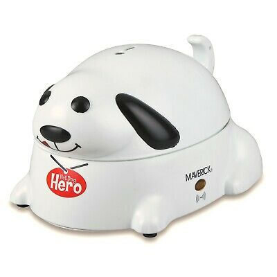 Hot Dog Hero Electric Hot Dog Cooker - Dog Shaped Hotdog Warmer and Serving Tray
