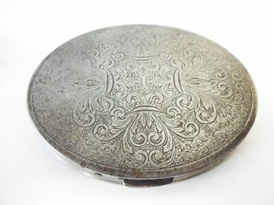 schöne antike ovale edel ziselierte Dose / antique noble chased oval case