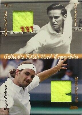 Ace Authentic Grand Slam 3 ROY EMERSON / ROGER FEDERER Match Used Ball