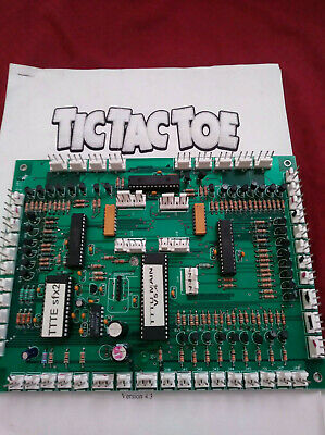 DSM Tic Tac Toe (and ultimate TIC TAC TOE) main pcb board ,redemption prize game