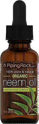 Piping Rock Neem Oil 1 fl oz (30 mL) Dropper Bottle