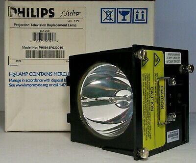 Philips PHI/915P020010 Projection Television Lamp in Housing Mitsubishi DLP