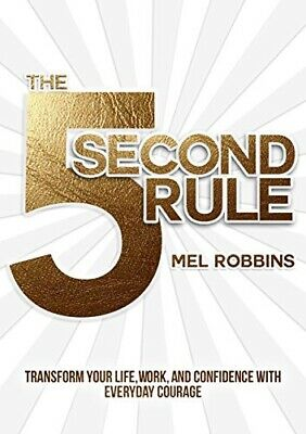 The 5 Second Rule By Mel Robbins (E-BOOK) / PDF 😄