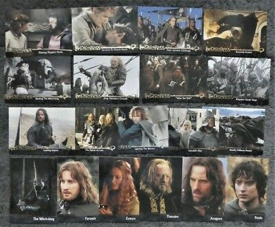 Bundle Lot of 19 Lord of the Rings Return of the King Trading Cards by Topps