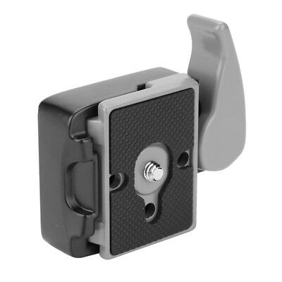 Camera 323 Quick Release Clamp Adapter w/ Manfrotto 200PL-14 Compat Plate 3/8 HP