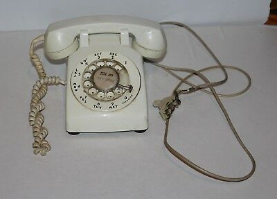 Vintage Rotary Dial Bell System By Western Electric Telephone