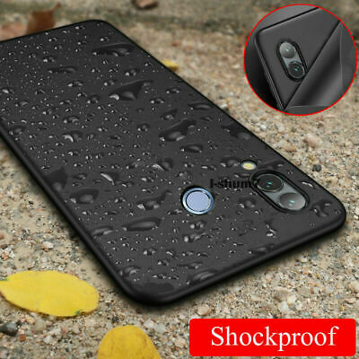 For Samsung Galaxy A20E A40 A50 Slim Silicone Soft TPU Frosted Back Case Cover