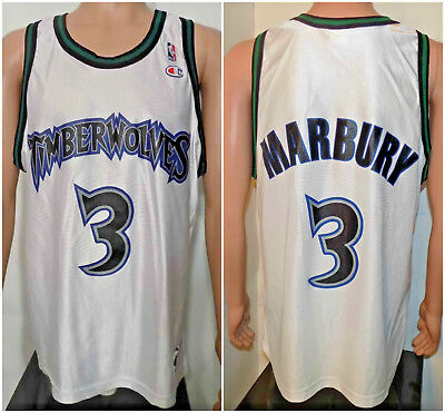 hot sale online a9285 0ce2a YOUTH MINNESOTA TIMBERWOLVES Wolves Stephon Marbury #3 ...