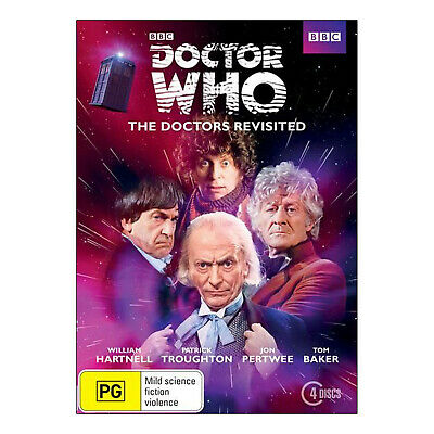 Doctor Who: The Doctors Revisited 1 NTSC DVD Hartnell, Troughton, Pertwee, Baker