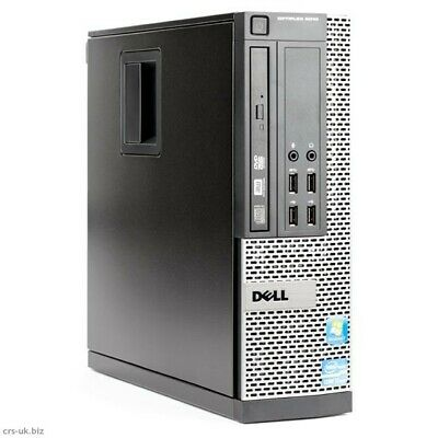 Dell Optiplex 9020 SFF DESKTOP PC COMPUTER I5-4570 3.4GHZ 8GB 500GB WIN 10 PRO