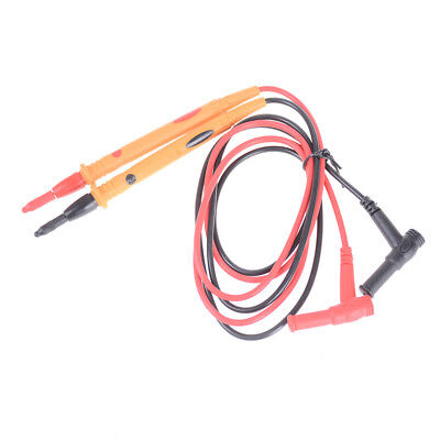 1 pair Heavy Duty Multimeter Voltmeter Rubberized Test Probe Leads 1000V 10A  PK
