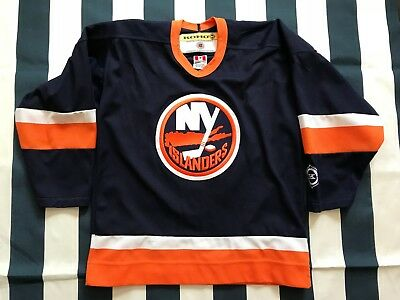 4733a222056 🔥New York Islanders Vintage KOHO Youth Kids Hockey Jersey L/XL SHEINMAN  Large🔥