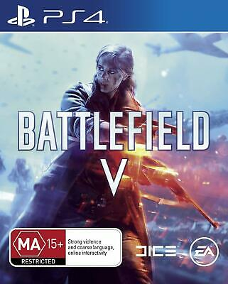 BF5 Battlefield V 5 Sony PS4 Playstation 4 WW2 FPS Shooter War Action Game
