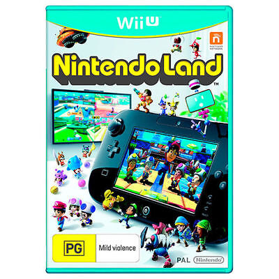 Nintendo Land Family Kids Video Game Fun Themes Compilation For Nintendo Wii U