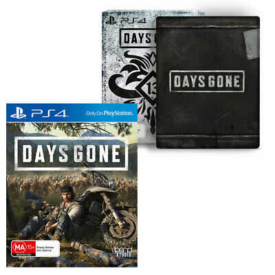 Days Gone Special Edition Sony PS4 Playstation 4 Outlaw Biker Doomsday Game