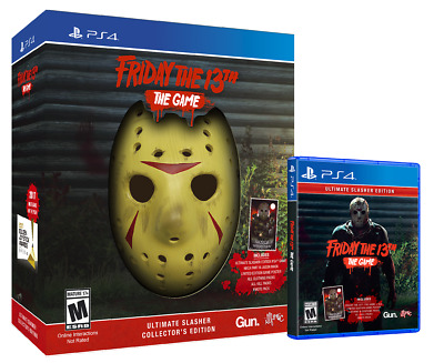 Friday The 13th Ultimate Slasher Collectors Edition Game Sony Playstation 4 PS4