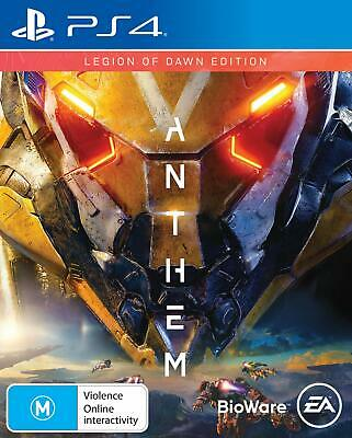 Anthem Legion Of Dawn Edition Online RPG Action Game Sony Playstation 4 PS4 Pro