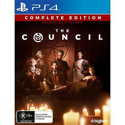 The Council Complete Edition Secret Society Rare RPG Sony Playstation 4 PS4 Game