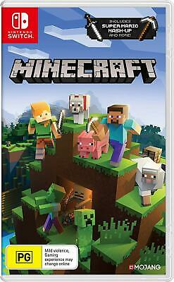 Minecraft Nintendo Switch Edition Family Kids Creative Crafting Adventure Game