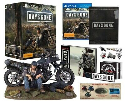 Days Gone Collectors Edition Sony PS4 Playstation 4 Outlaw Biker Doomsday Game