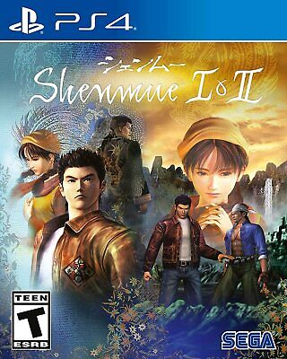 Shenmue I & II 1 2 Open World Jujitsu Action RPG Game For Sony Playstation 4 PS4