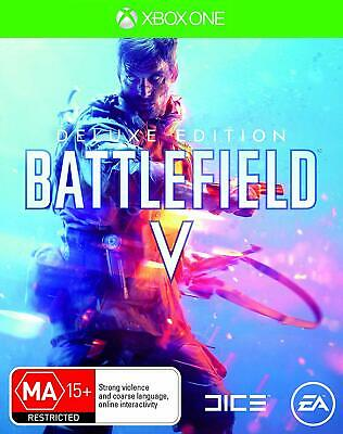 Battlefield V 5 Deluxe Edition XBOX One Microsoft XB1 WW2 Shooter Game BFV BF5