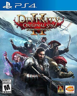 Divinity Original Sin II Definitive Edition Sony PS4 Playstation 4 Combat Game