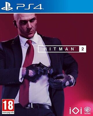 Hitman 2 Sony PS4 Playstation 4 Agent 47 Assassin Spy Thriller RPG Action Game