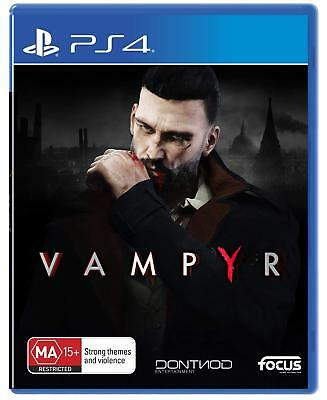 Vampyr Vampire XBOX One London 1900s RPG Action Game For Sony Playstation 4 PS4