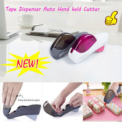 Amazing One Press Tape Dispenser Auto Suitable Hand held Cutter Cinta AdhesivaU9