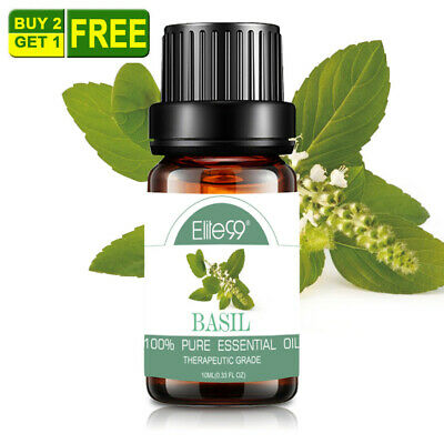 10ml Essential Oils Basil Natural Home Fragrances Aromatherapy Diffuser Oil