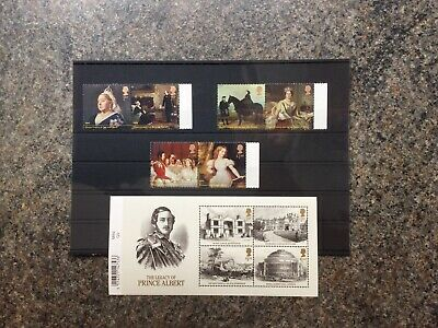 GB Stamps 2019 'Queen Victoria Bicentenary' - Mint Stamps And Miniature Sheet