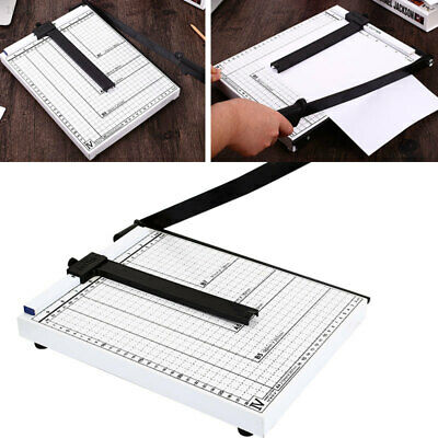 """Heavy Duty Guillotine Paper Cutter 17"""" Commercial Metal-Base A4 Trimmer 100Sheet"""