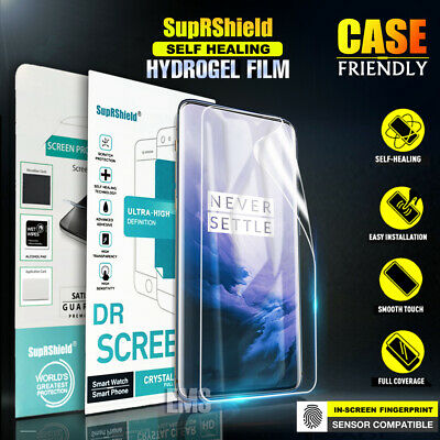SupRShield OnePlus 7 7 Pro HYDROGEL AQUA FLEX Full Coverage Screen Protector