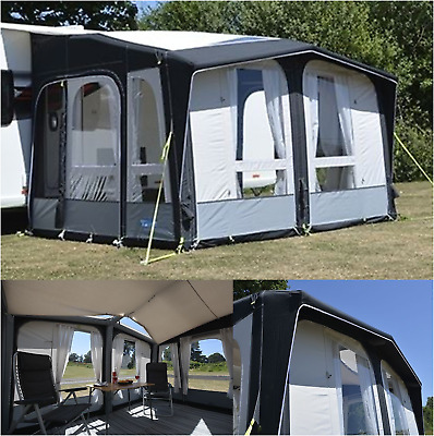 PACKAGE DEAL Kampa Club pro air 330 inflatable caravan awning - 2019 AW1002