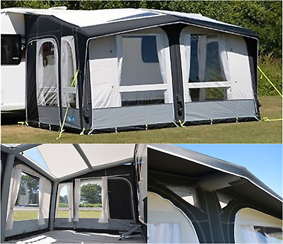 PACKAGE DEAL Kampa Club pro air 390 inflatable caravan awning - 2019 AW1003
