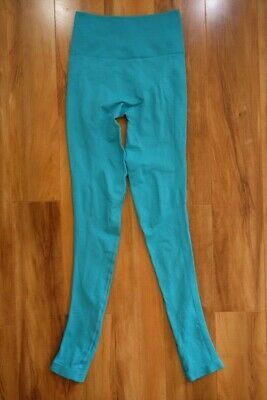 71c603f7ba44d4 Lululemon Zone In Legging Size 4 Teal Blue Green Mint Seamless High Rise  Tight