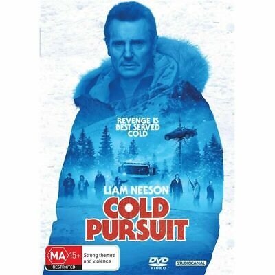 Cold Pursuit : NEW DVD : Aus Stock : Liam Neeson : *WEDNESDAY 19/6 ONLY SPECIAL*