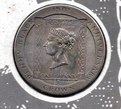 *150th ANNIVERSARY OF THE BLACK PENNY UNC LIMITED EDITION COIN*with COA