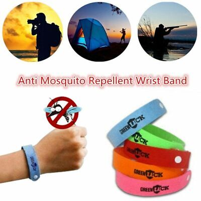 Anti Mosquito Wrist Band Pest Insect Bug Repeller Repellent Bracelet Summer Camp