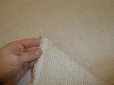 727073-... Rustic Natural Cotton Lace Trimming with Chenille Edging per metre
