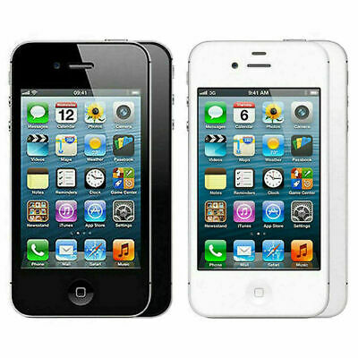 Apple iPhone 4s -16gb black/white Unlocked A1387 (CDMA + GSM)