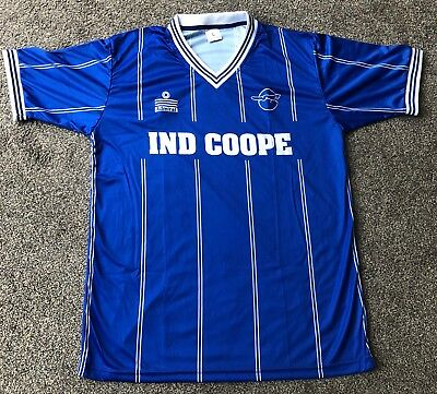 Retro Leicester City 1983-1985 Home IND COOPE Shirt ALL SIZES/SLEEVES