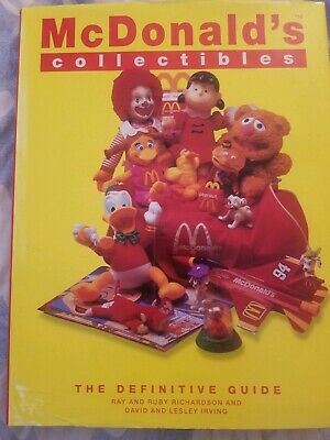 McDonald's Collectibles Price Guide Hardcover Book 1970 to 1997