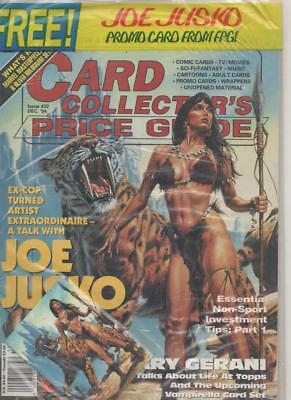 Card Collectors Price Guide  #32 Dec 1994 USA Inc free Joe Jusko promo card
