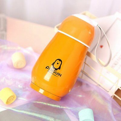 Portable Cute Penguin Thermos Stainless Steel Tumbler Thermal Insulati N5♪